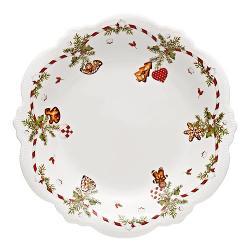 Hutschenreuther Geschenkserie Weihnachtsleckereien Gebäckteller 31 cm